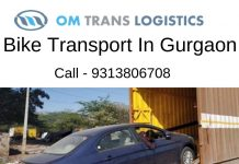 Om trans logistics Bike Transport Service in gurgaon