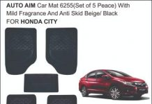 Car mats for Honda City