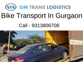 Bike Transport Service in Gurgaon