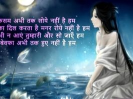 Good Evening SMS in Hindi for Friend