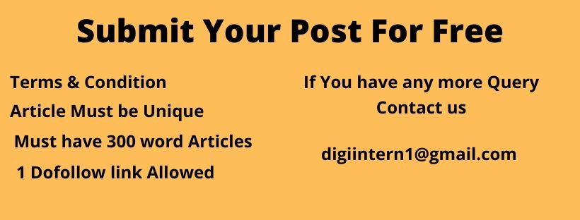 Submit Your Post For Free