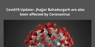 Covid19 Update:- Jhajjar Bahadurgarh are also been affected by Coronavirus